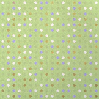 Dots, Pattern, Design, Scrapbooking, Background