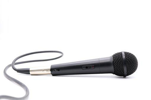 Microphone, Mic, Mike, Sound, Audio, Dynamic Microphone
