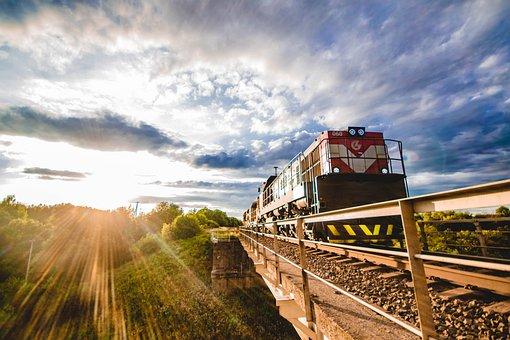 Train, Train Bridge, Railway, Railroad, Train Tracks