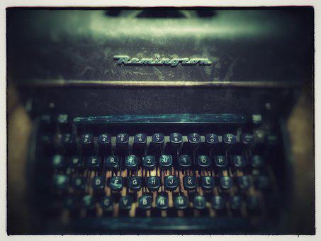 Typewriter, Vintage, Old, Classic, Retro, Mechanical