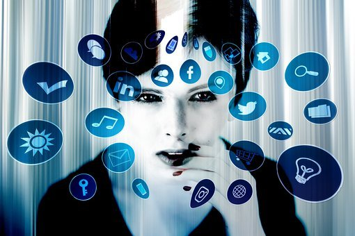 Woman, Face, Expression, Social Media, Internet, Apps