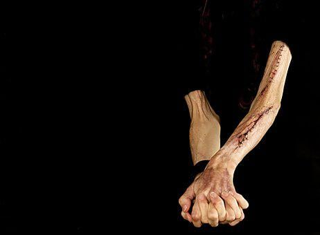 Scars, Arm Cut, Wound Stitches, Wound, Injury, Arms