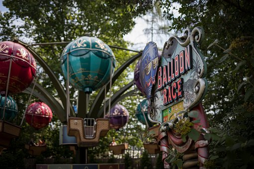 Balloon, Carousel, Fair, Colorful, Folk, Festival, Fun