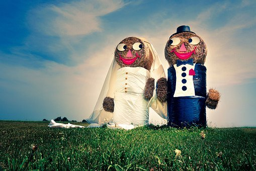 Couple, Married, Wedding, Groom, Bride, Love, Romance