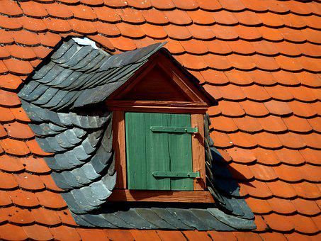 Dormer, Window, Mansard Roof, Mansard, Roof Windows