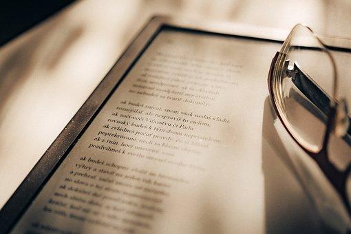 Ebook, Ebook Reader, E-reader, Reader Device