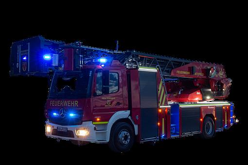 Firetruck, Truck, Rescue, Firefighting, Fire Engine