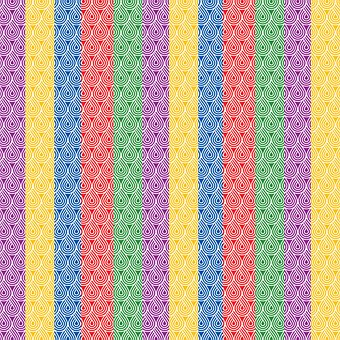 Stripes, Colorful, Rainbow, Paper, Geometrical, Pattern