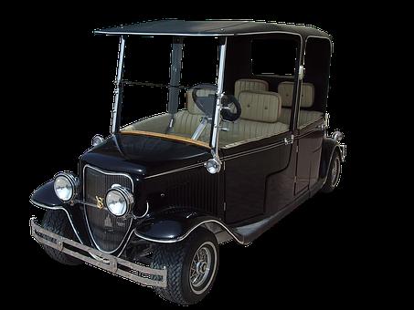 Golf Cart, Old Golf Cart, Vintage Golf Cart, Vehicle
