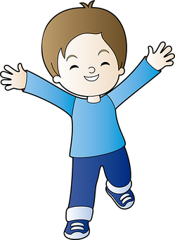 Child, Boy, Cute, Kid, Happy, Hands, Cartoon, Childhood