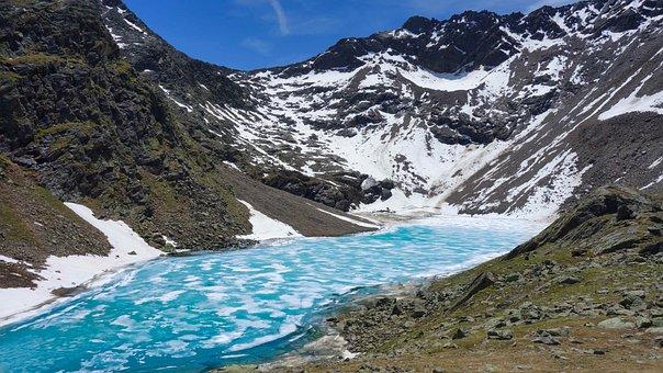 Landscape, Grastalsee, Lake, Mountains, Mountain Range