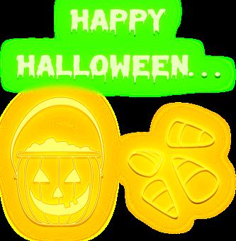 Halloween, Neon Candy Corns, Neon Pumpkin Lantern