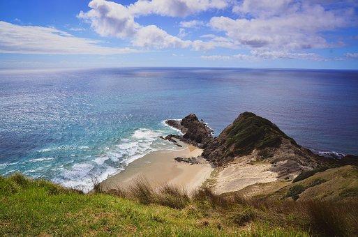 Seascape, Sea, Ocean, Beach, Coast, Coastline, Seashore