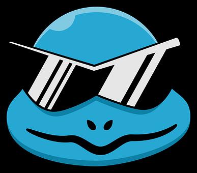 Character, Cartoon, Pokemon, Sunglasses, Squirtle