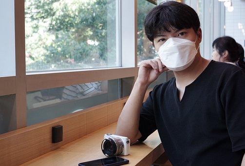 Face Mask, Man, Medical Mask, Protective Mask