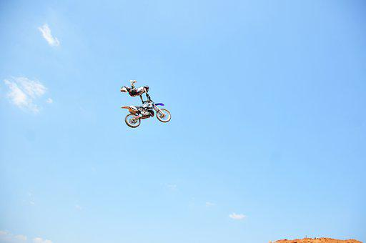 Motocross, Dirtbike, Rider, Extreme, Race, Sports