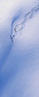 Skiing, Ski, Mountain, Snow, Snow-covered Mountain