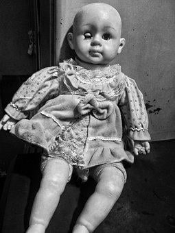Doll, Creepy Doll, Scary Doll, Horror, Spooky
