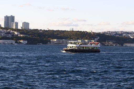 Boat, Ship, Water, Marine, Travel, Tourism, City, Sky
