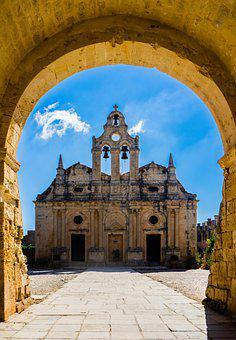 Architecture, Catholic, Church, Monastery