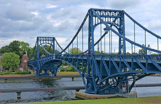 Kaiser Wilhelm Bridge, Bridge, Architecture