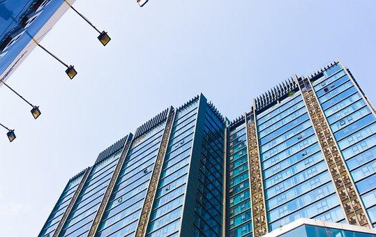 Skyscraper, Building, Architecture, Facade