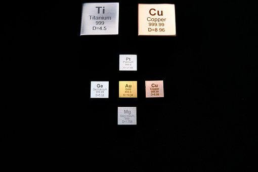 Chemistry, Science, Elements, Cube, Density Cube