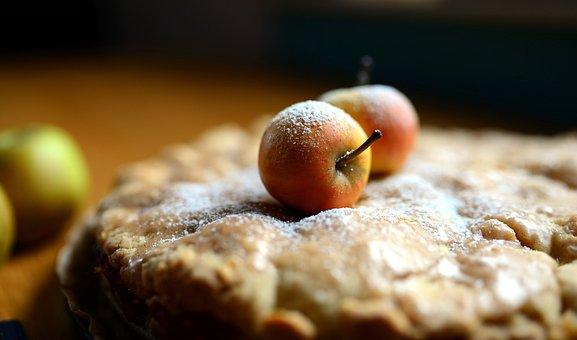 Apple Pie, Pie, Pastry, Food, Dish, Dessert, Baked