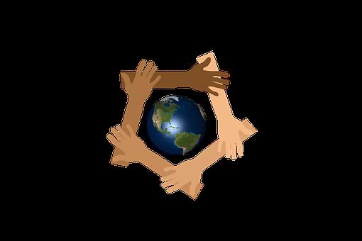 Earth, Hands, Unity, Diversity, Concept, Community