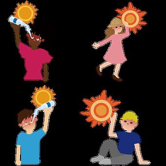 Global Warming, Hot, Heat Stroke, Heat, Heat Exhaustion