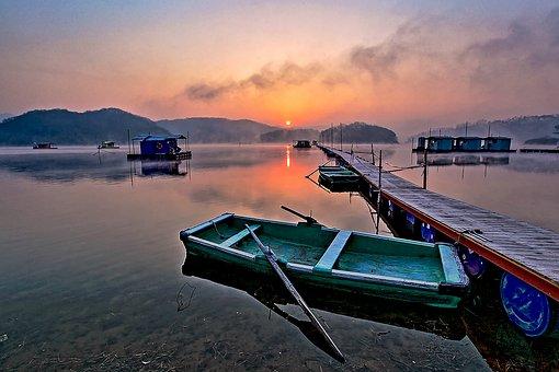 Lake, River, Dock, Wooden Dock, Wooden Pier, Water