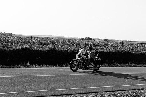 Motorcycle, Bike, Motorbike, Speed, Action, Biker, Man