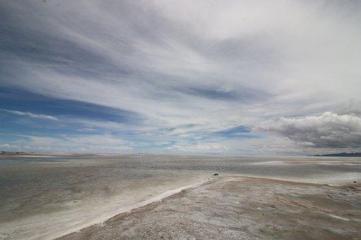 Landscape, Salt, Salt Flat, Salar De Uyuni