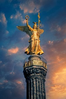 Victory Column, Statue, Monument, Sculpture, Tower