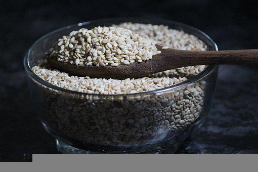 Sesame, Sesame Seeds, Food, Healthy, Nutrition, Grains