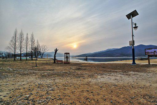 Scenery, Lake, River, Water, Lakeside, River Bank