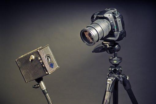 Cameras, Old Camera, New Camera, Vintage Camera