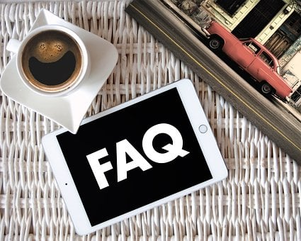 Tablet, Frequently Asked Questions, Faqs, Cup Of Coffee