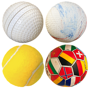 Balls, Soccer Ball, Tennis Ball, Golf, Volleyball