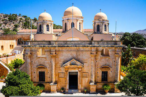 Monastery, Church, Building, Religion, Orthodox, Greek