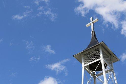 Cross, Church, Species, Belfry, Tower, Christian