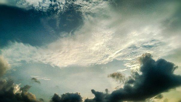 Sky, Skyscape, Clouds, Cloudscape, Nature, Cloudy