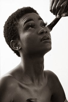 Makeup, Cosmetics, Model, African Model, African Female