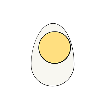 Egg, Egg Shell, Food, Poultry, Shell, Egg Icon, Icon