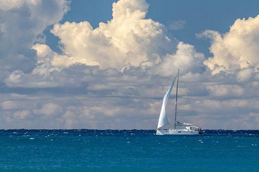 Boat, Sailboat, Sail, Sailing, Mast, Rigging, Cordage