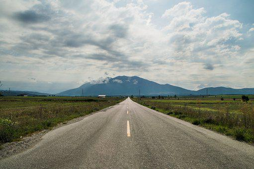 Road, Highway, Pavement, Roadway, Path, Asphalt, Greece