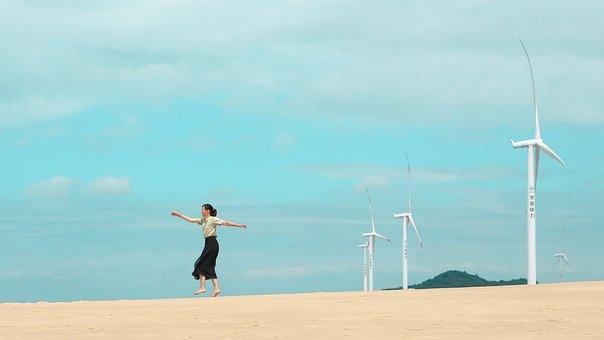 Windmills, Wind Power, Wind Generator, Energy