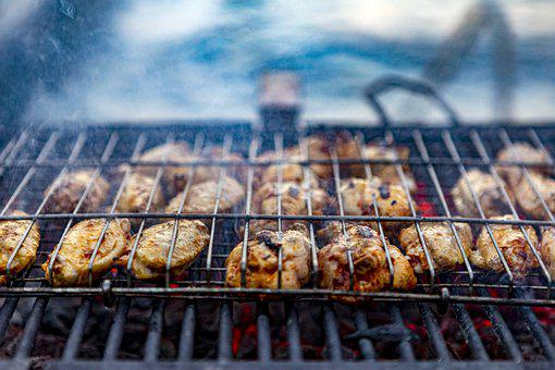 Grill, Grilled Chicken, Chicken, Grilling, Grilled Meat