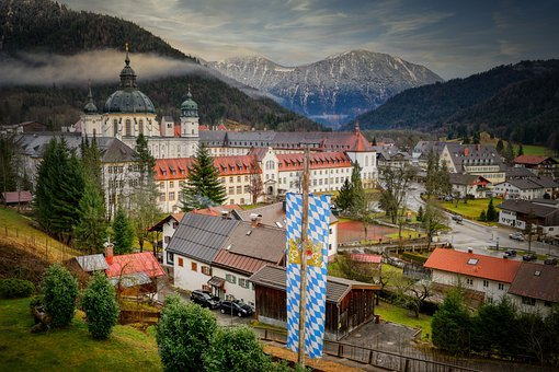 Monastery, Church, Baroque, Buildings, Structures