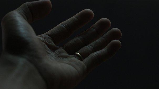 Hand, Palm, Hand Gesture, Praying, Christian, Faith